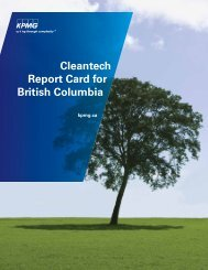 Cleantech Report Card for British Columbia -  Ballard Power Systems