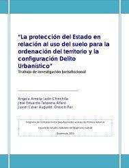 """""""La protección del Estado en relación al uso del suelo para la ..."""