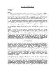 No. de Proceso 170-2010 - Organismo Judicial