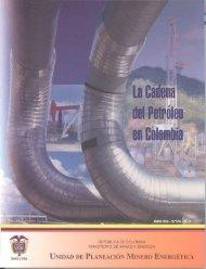 La Cadena del Petróleo en Colombia. - Unidad de Planeación ...