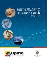 Boletín Estadístico de Minas y Energía 1990-2010. - Upme