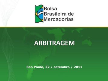 ARBITRAGEM - Abrapa
