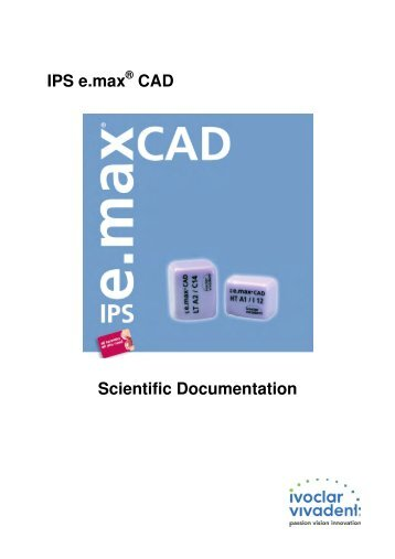 IPS e.max CAD Scientific Documentation