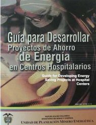 Guide for Developing Energy Saving Projects at Hospital ... - Upme