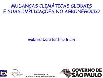 mudanças climáticas globais e suas implicações no ... - Abrapa