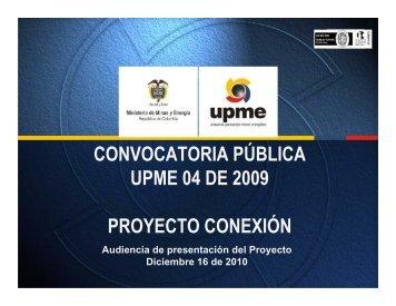 Localización - Unidad de Planeación Minero Energética, UPME