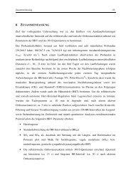 6 ZUSAMMENFASSUNG Ziel der vorliegenden Untersuchung war ...