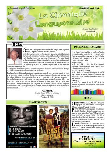 Menus cantine scolaire longuyon - Journal du pays d auge ...