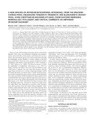 a new species of myxidium (myxosporea: myxidiidae) - BioOne