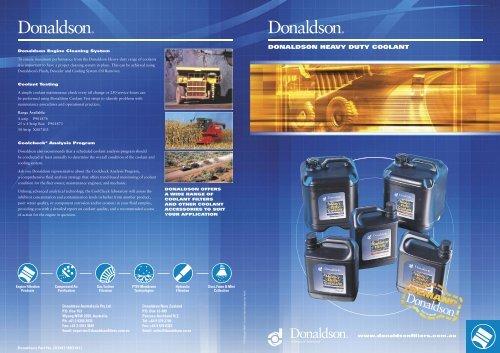 Donaldson Heavy Duty Coolant - odms.net.au