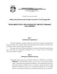 Regolamento per la disciplina dell'Imposta Comunale sugli Immobili