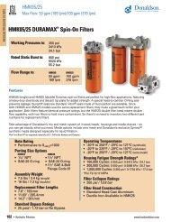 F112100 Donaldson Medium Pressure Hydraulic ... - odms.net.au