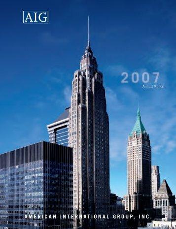 2007 Annual Report - AIG.com
