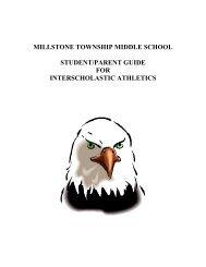 STUDENt/PARENT Guide FOR INTERSCHOLASTIC Athletics