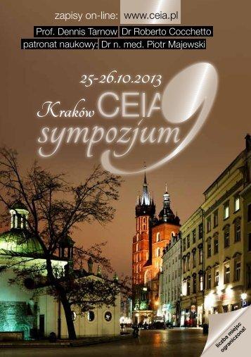 25-26.10.2013 Kraków - CEIA