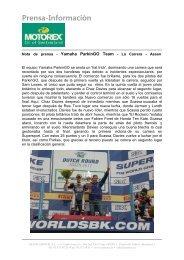Prensa-Información - Motorex