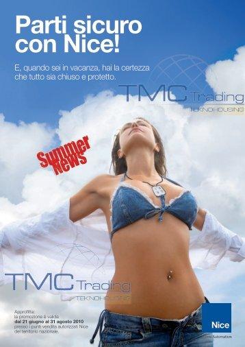 Scarica la brochure - TMC Trading
