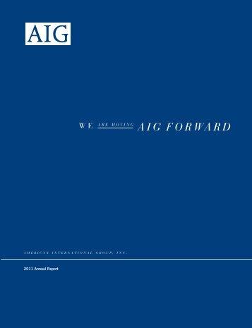 2011 Annual Report - AIG.com