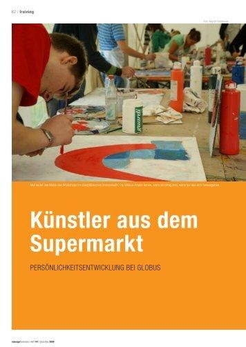Künstler aus dem Supermarkt - Stollsteiner