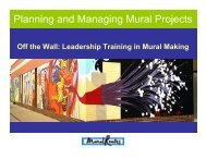 Planning and Managing Mural Projects - Mural Routes