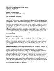 IO Psychology - Long Ad - 2012 - Industrial and Organizational ...