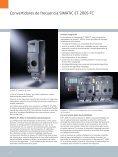 Convertidores de frecuencia para periferia ... - SETAMS SA - Page 2