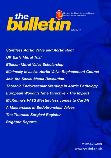 Stentless Aortic Valve and Aortic Root UK Early Mitral Trial Ethicon ...