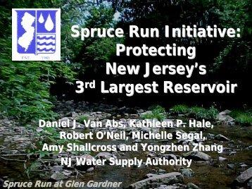 Spruce Run Initiative - Raritan Basin Watershed Management Project