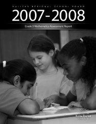 Grade 5 Mathematics - Halifax Regional School Board