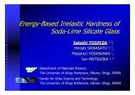 Energy-Based Inelastic Hardness of Soda-Lime Silicate Glass