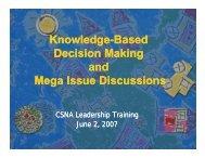 Knowledge Knowledge-Based D i i M ki ecision Making Decision ...