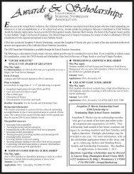 General Info - California School Nutrition Association