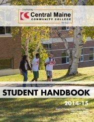 STUDENT HANDBOOK - Central Maine Community College