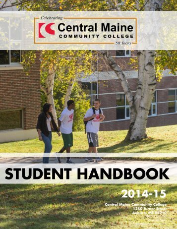 STUDENT HANDBOOK - Central Maine Community College