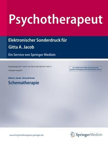 Psychotherapeut - Dr. Gitta Jacob
