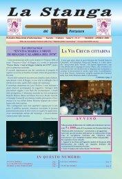 Marzo - Aprile 2008 (Anno V - n. 2) - Associazione Portatori della Vara