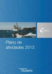 Plano de atividades 2013 - Instituto Hidrográfico