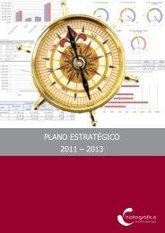 PLANO ESTRATÉGICO 2011 – 2013 - Instituto Hidrográfico