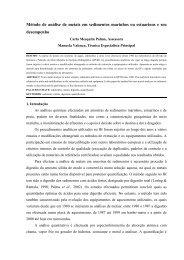 Método de análise de metais em sedimentos marinhos ou ...