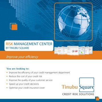Risk Management Center brochure