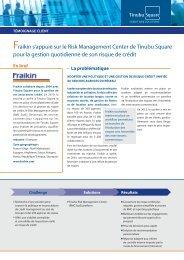 Fraikin s'appuie sur le Risk Management Center de Tinubu Square ...