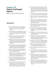 Chapter 219 Topical Antifungal Agents - McGraw-Hill Medical ...