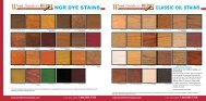 CLASSIC OIL STAINS NGR DYE STAINS - Wood Finisher's Depot