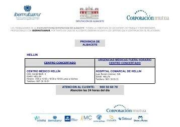 AVISO IMPORTANTE - Diputación Provincial de Albacete