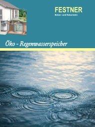 FESTNER Öko Regenwasserspeicher