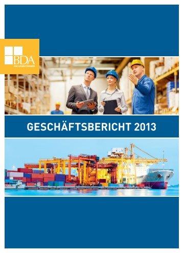 Geschäftsbericht 2013