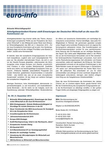 Euro-Info Nr. 05/2014