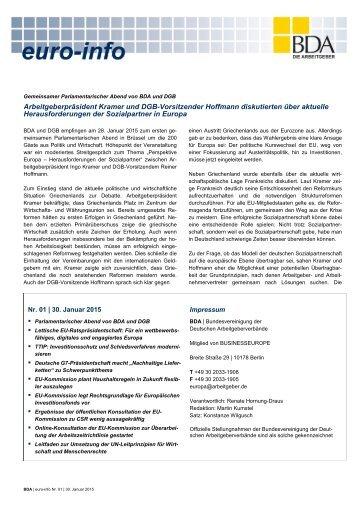 Euro-Info Nr. 01/2015