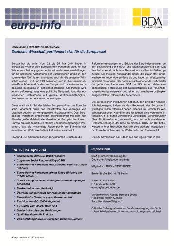 Euro-Info Nr. 02/2014