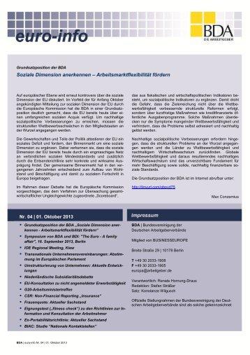 Euro-Info Nr. 04/2013